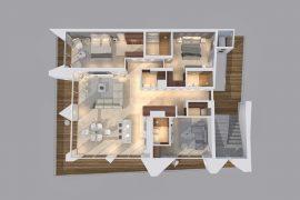 Apartamento 01 vista planta